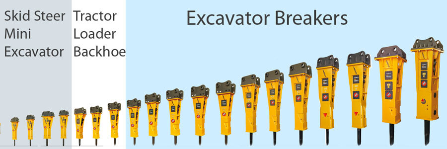 Indeco Hydraulic Breakers Models