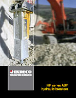 Indeco Hydraulic Breaker